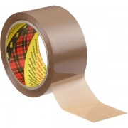 3M Scotch 6890 PVC Verpackungsklebeband 50mm x 66m braun