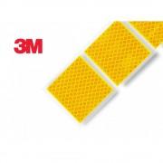 3M Diamond Grade 997 Reflektorfolie selbstklebend GELB Meterware