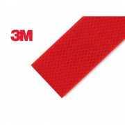 3M Diamond Grade 983 Reflektorfolie ROT selbstklebend Meterware