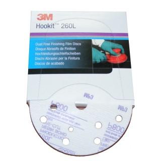 3M 51099 Hookit 260L Hochleistungsschleifscheiben P800