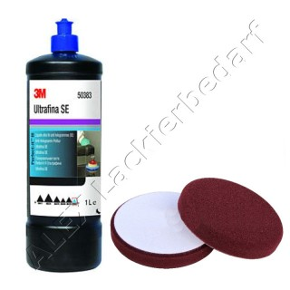 3M 50383 Perfect-it III Anti-Hologramm Politur 1Liter + Polierschwamm 150mm