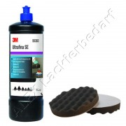 3M 50383 Perfect-it III Anti-Hologramm Politur 1Liter + Polierschwamm 180mm