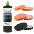 3M 50417 Perfect-it III Schleifpaste PLUS 1 kg +  Polierschwamm 150mm 3-er Set