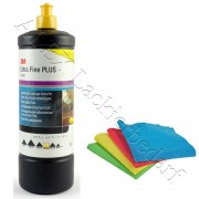 3M 80349 Perfect-it III Schleifpaste Extra Fine PLUS 1 kg + 1 Poliertuch