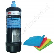 3M 09376 Perfect-it III Hochglanz Maschinen Politur 1Liter + 1 Poliertuch