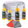 Brayt Politur Starter Set 6-teilig T1+T2+T3+T4+2 Poliertücher