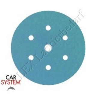 CarSystem Schleifscheiben Finishline Grip P1500 Ø 150 mm – 6-Loch 50 Stück