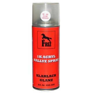 FRIZ 1K Acryl Klarlack GLANZ Spray 400ml farblos transparent