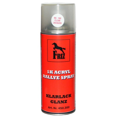 friz 1k acryl klarlack glanz spray 400ml farblos transparent. Black Bedroom Furniture Sets. Home Design Ideas