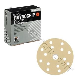 Indasa Schleifscheiben RhynoGrip White Line Ø 150 mm – 15-Loch 100 Stück