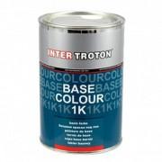 Inter Troton Vorlack Basislack Grundlack Grundfarbe Autolack SCHWARZ 1Liter