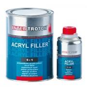 Inter Troton Acryl Füller HS 5:1 0.8L Grau + Härter 0.16L