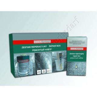 Inter Troton Reparatursatz Standard 1.0kg Harz + Härter + Glasmatte