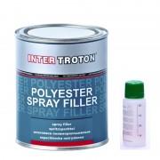 Inter Troton Polyester Spritzspachtelmasse 1.0kg + Härter