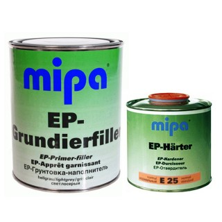 MIPA 2K EP Grundierfiller Füller 1L + Härter E25 0,5L