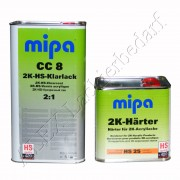 MIPA 2K HS Klarlack CC8 5L + Härter HS25 normal 2,5L