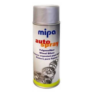 MIPA 1K Acryl Felgensilber 400ml Spraydose