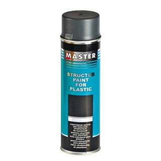 3 x 500ml Master Troton Strukturlack für Kunststoff Spray Bumper Paint Armaturenbrett Schwarz