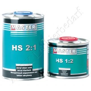 Master Troton HS Acryl Klarlack 2:1 1.0 L + Härter 0.5 L