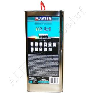 Master Troton HS Acryl Klarlack 2:1 5.0 L