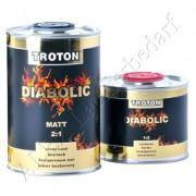 Master Troton Diabolic Acryl Klarlack 2:1 MATT 1 Liter + Härter 1:2 0.5 Liter