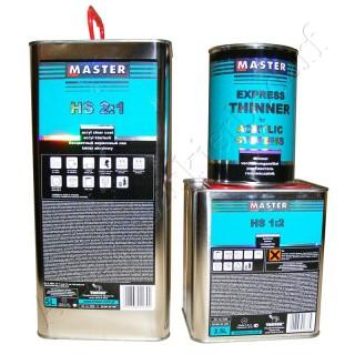 Master Troton HS Acryl Klarlack 2:1 5.0 L + Härter 1:2 2.5 L + Verdünner Express 1.0 L