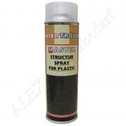 3 x 500ml Master Troton Strukturlack für Kunststoff Spray Bumper Paint Armaturenbrett Farblos